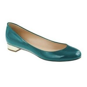 J. Crew Janey Green Emerald Shoes, 98428